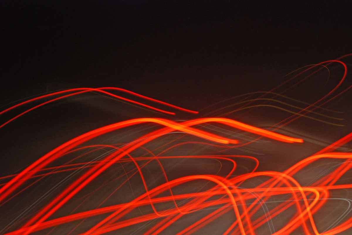 Fire Trails - Painting with Light